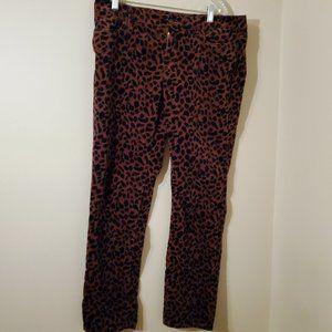 Loft Leopard Print Pants